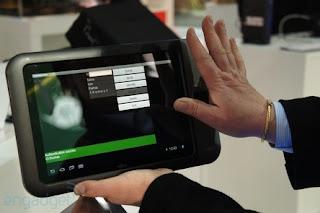 palmreader fujitsu tablet