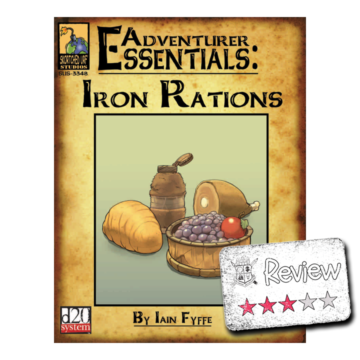 Frugal GM Review: Adventurer Essentials (Iron Rations)