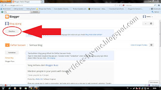 Cara Membuat Blog Geratis Pada Situs Blogger Dan Kegunaannya