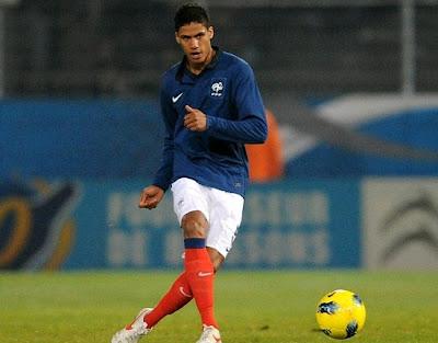 Varane playing for France