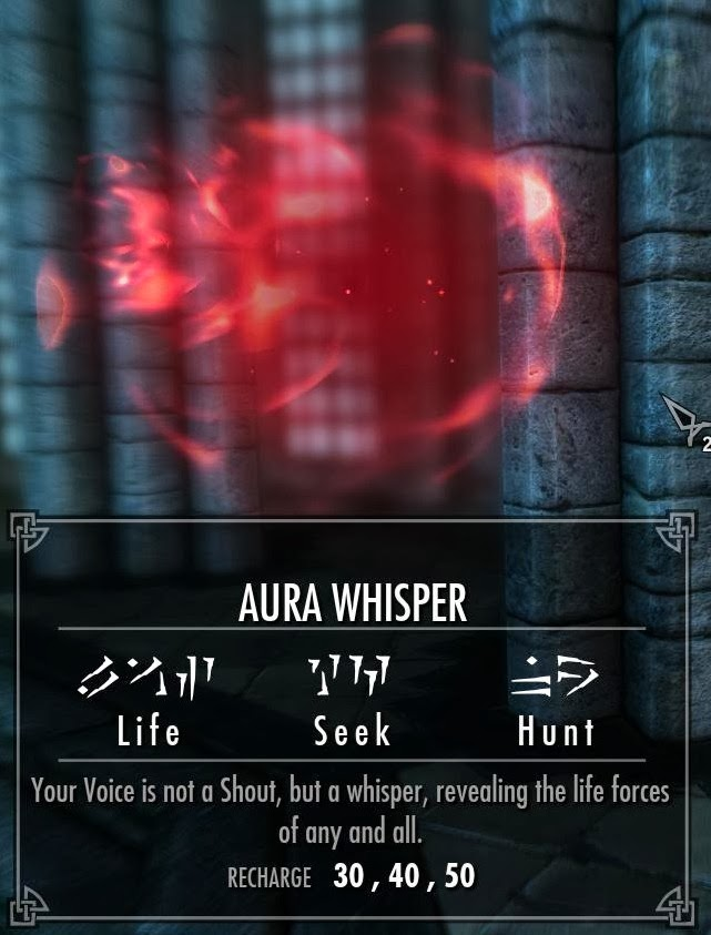Shouts in this game are special powers that do various things.