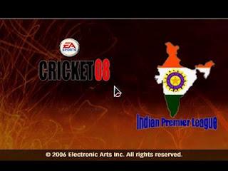 IPL 2008 Cover