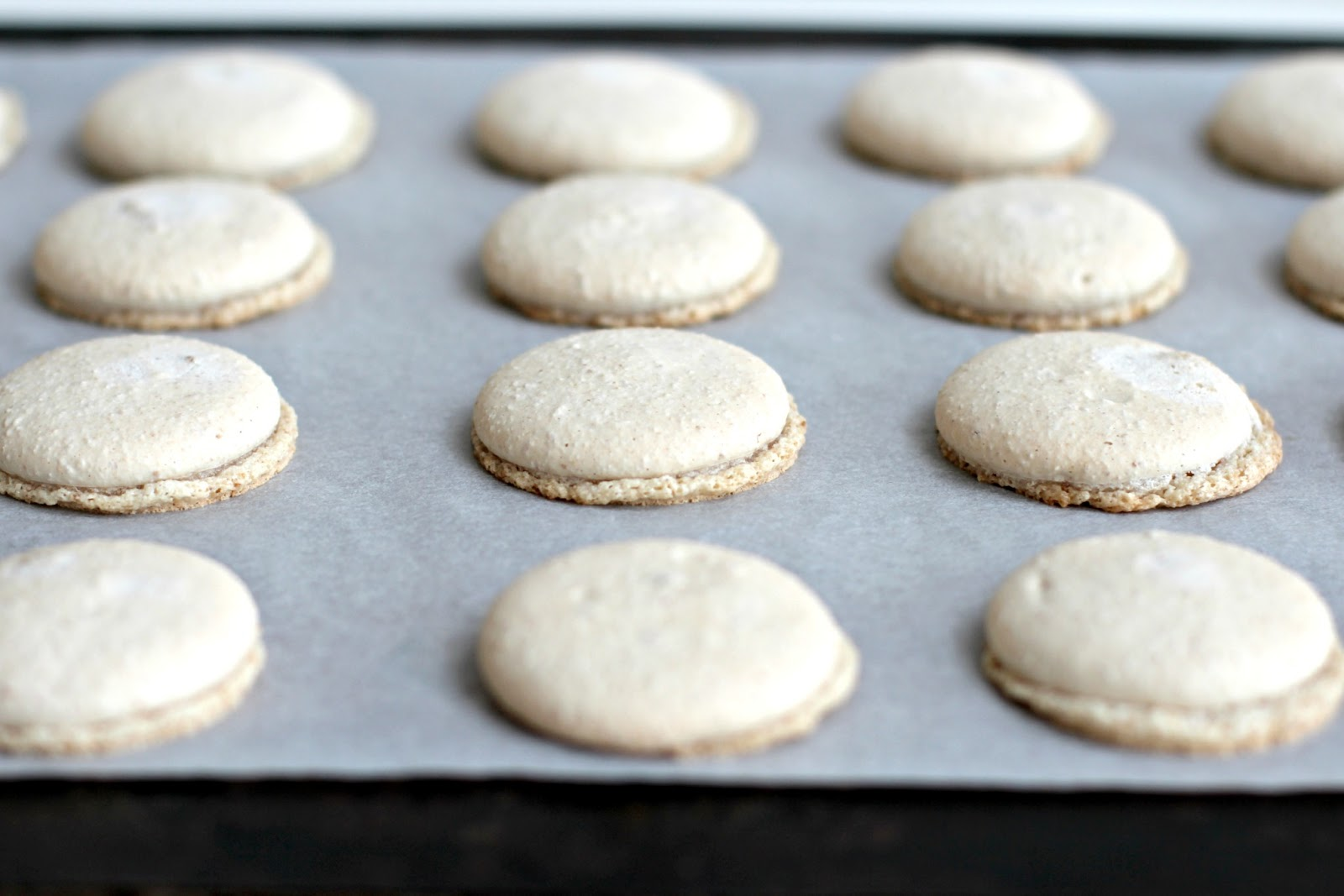 Milk and Honey: S\'mores Macarons