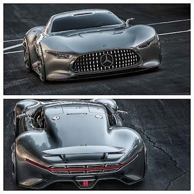 Mercedes AMG Vision Gran Turismo: Virtual Reality | Download on December 6