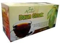Contoh Teh herbal - Teh herbal daun sirsak