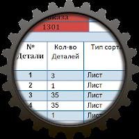 Сквозная нумерация деталей