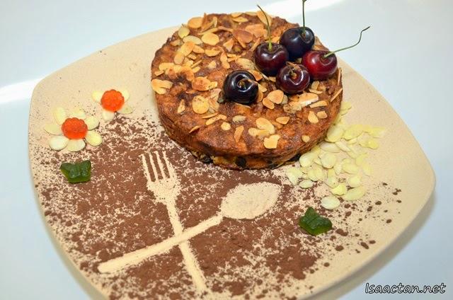 Banana vanilla muffin/cake
