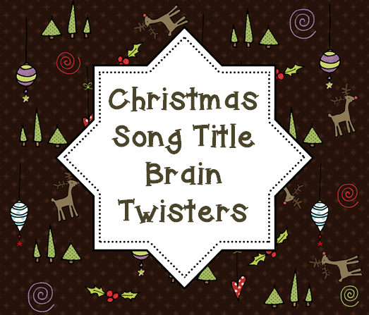 This Christmas song titles game is a GREAT activity for your 4th, 5th, and 6th grade students to have a little fun this Christmas season. Use it anytime in December to let your fourth, fifth, or sixth grade students get some figurative language practice in a seasonal, holiday manner! Click through now to pick your copy up for FREE!