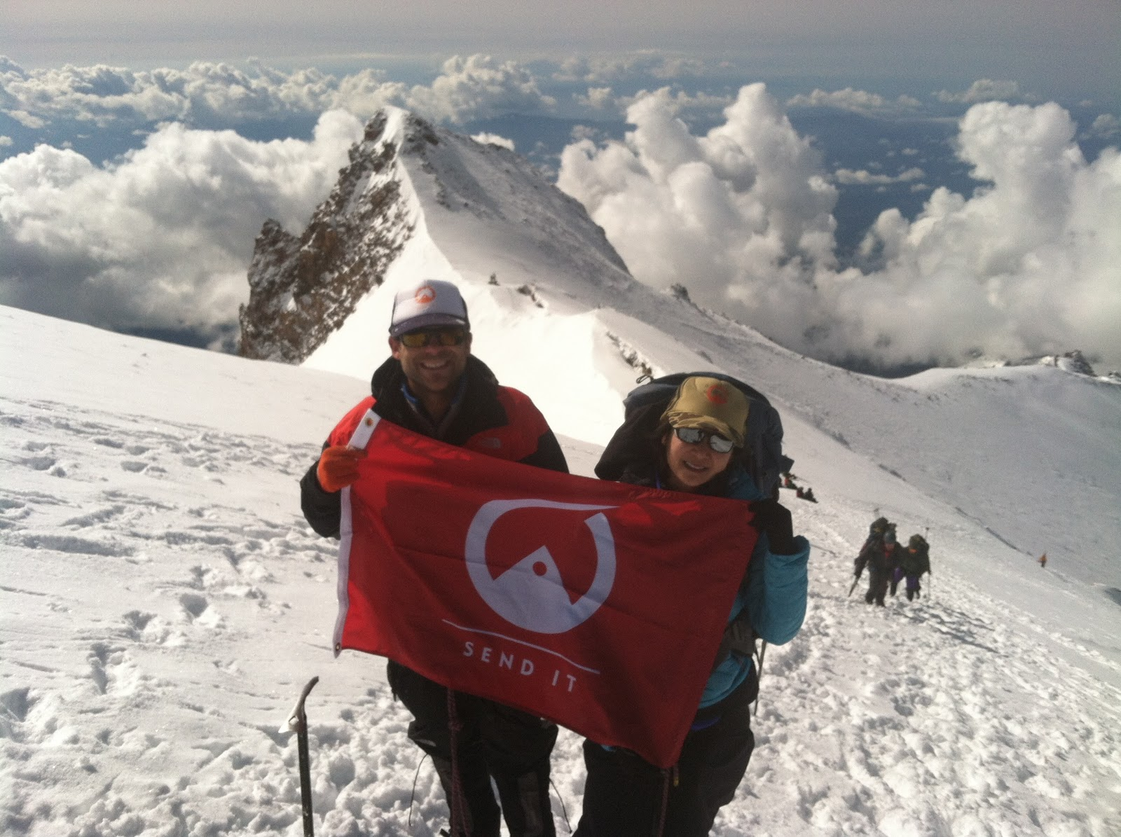 check us out in the shasta mountain guide climb report