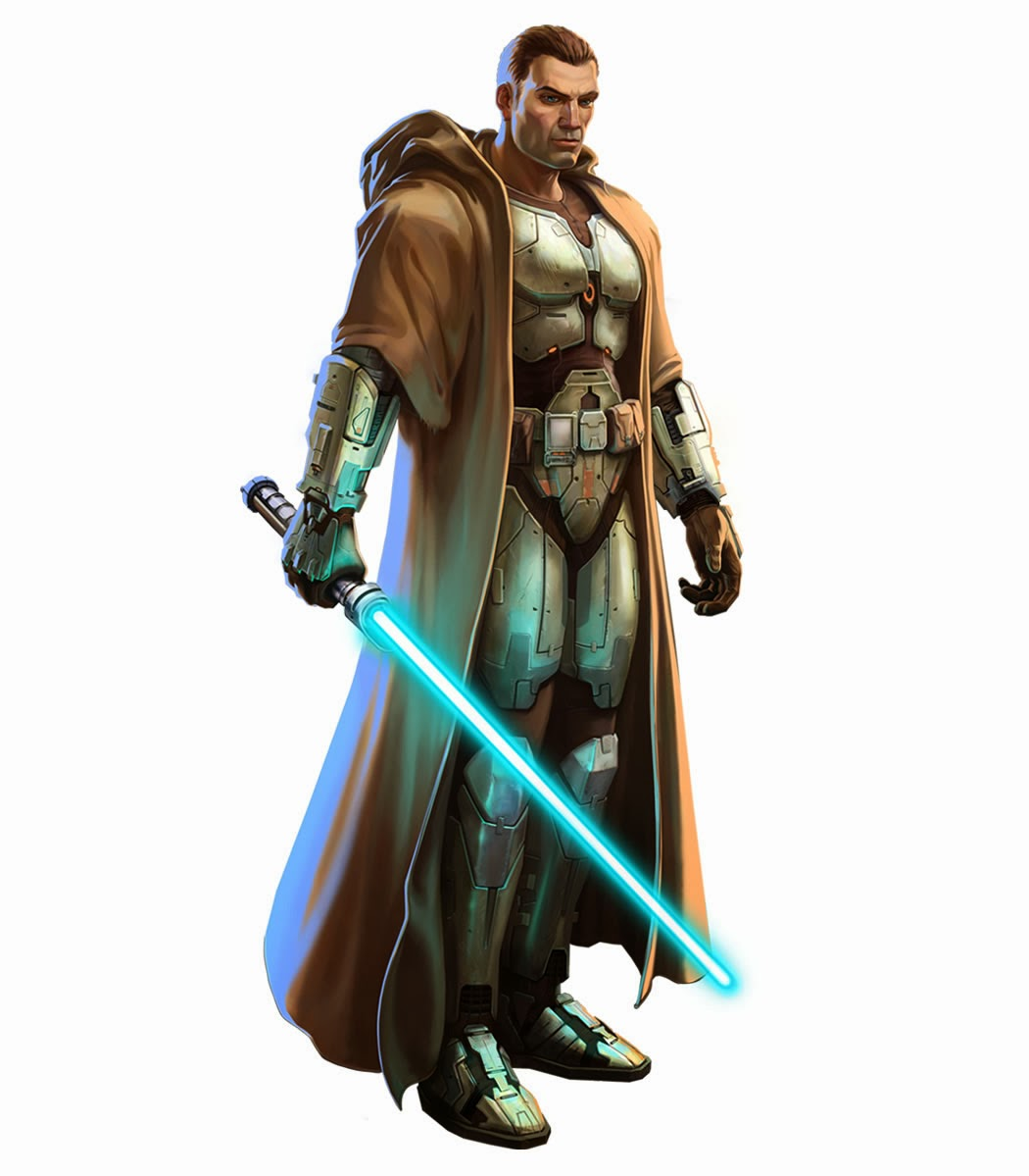 Image result for male jedi character