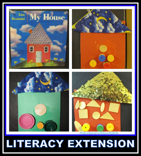 Reggio Arts and Literacy Connection and Extension via RainbowsWithinReach