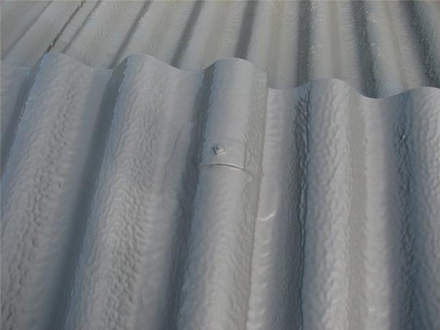 Encapsulaci n de cubiertas de fibrocemento uralitas for Fibrocemento sin amianto