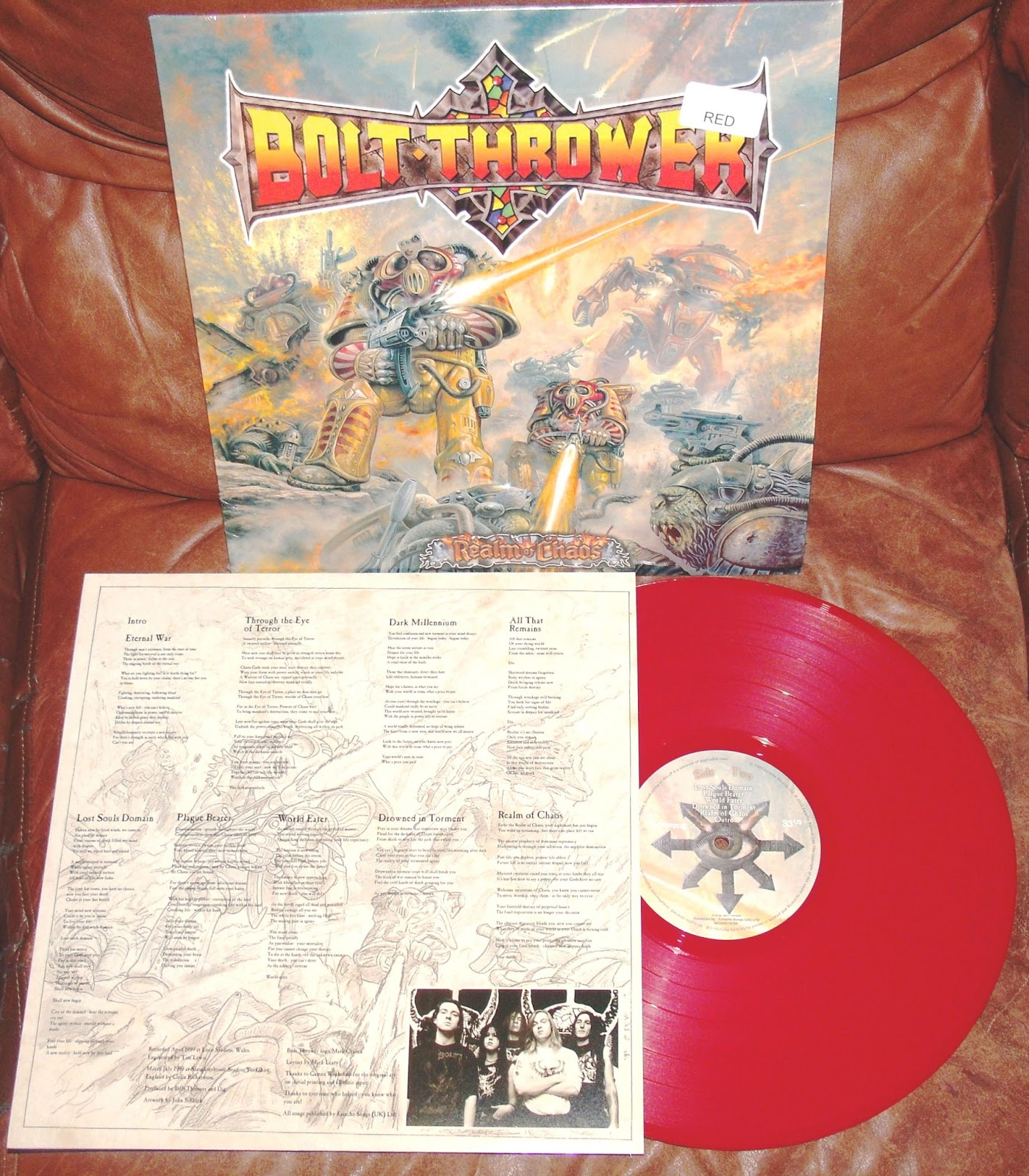 The Emerging Addiction Bolt Thrower Realm Of Chaos