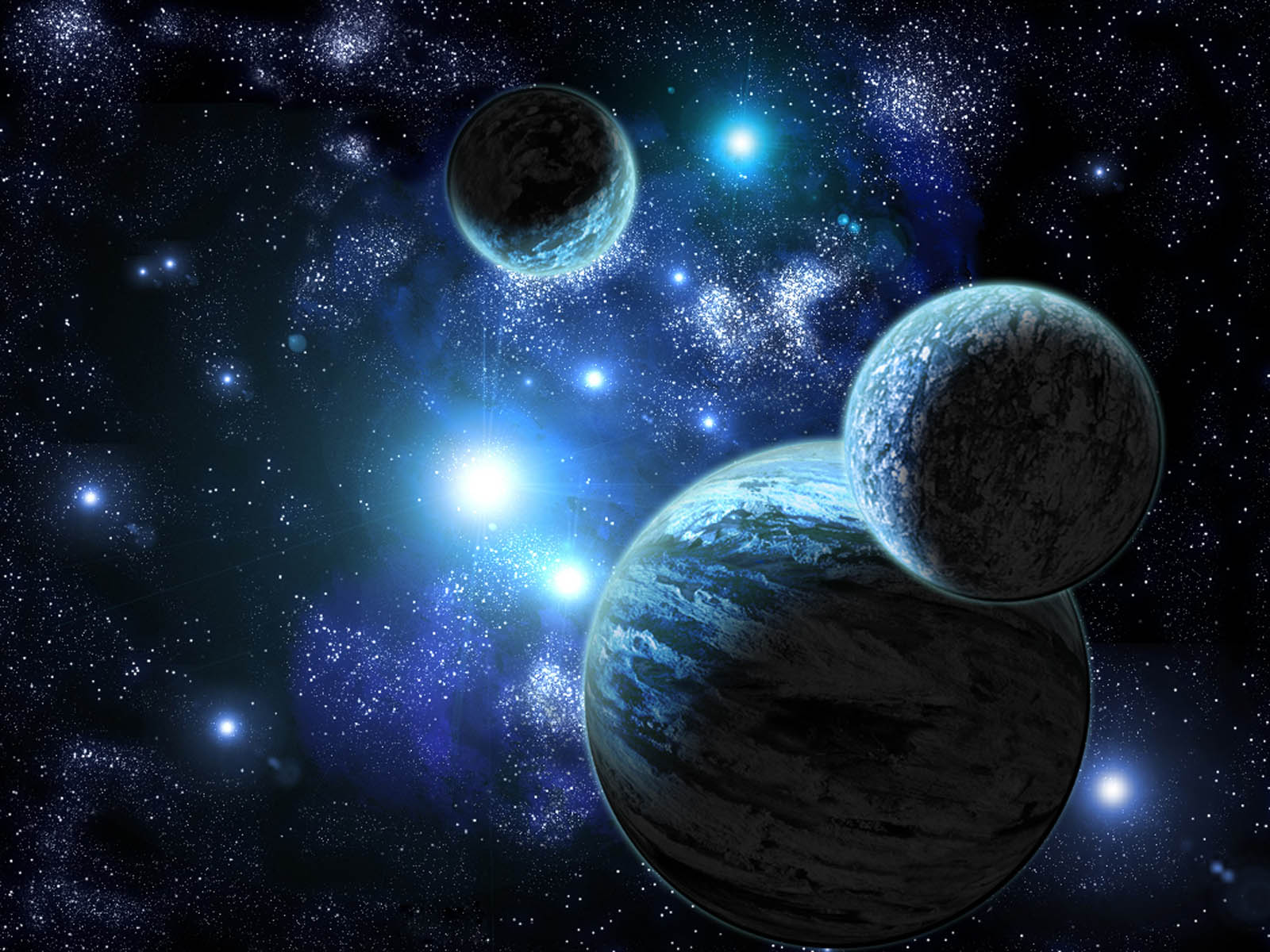 Wallpapers outer space for Outer space planets