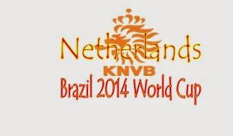 Profil Tim Netherlands (Belanda) Piala Dunia 2014 Brasil