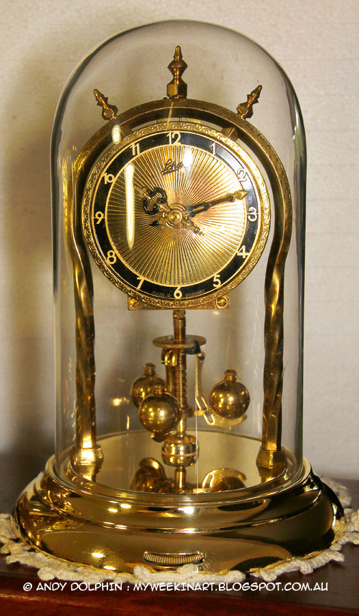 Schatz 53 400 Day Anniversary Dome Clock