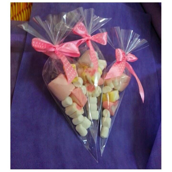 Takaramono engagement review doorgift marshmallow for Idea door gift kahwin 2013