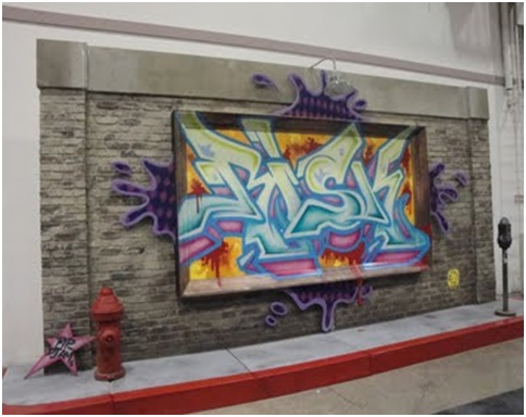 Juvenile graffiti bedrooms graffiti decoration hip hop - Graffitis en dormitorios ...