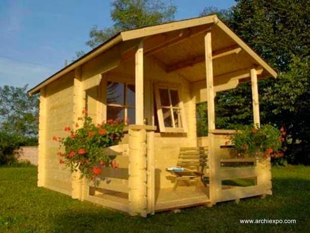 16 modelos de casitas de madera para el jard n - Casitas para el jardin ...