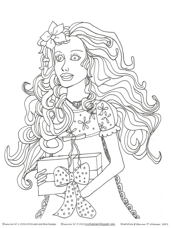 Retro Barbie Coloring Pages : Learn and grow designs website barbie house christmas