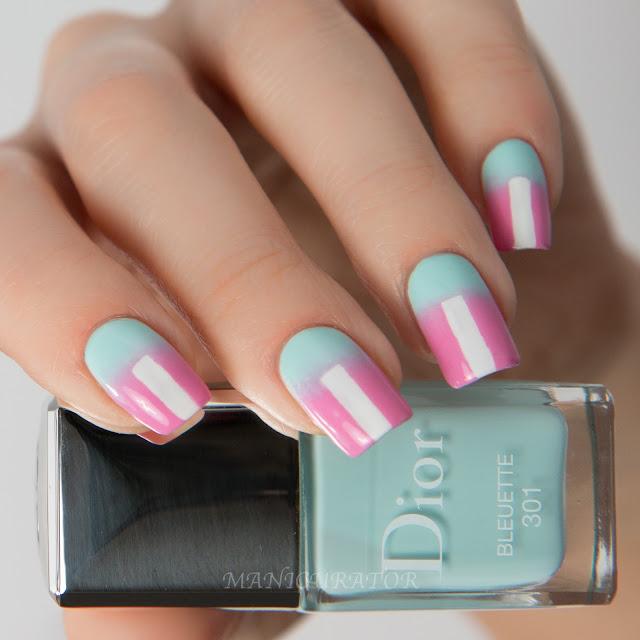 Dior-Glowing-Gardens-Bleuette-Lilac-Pantene-Nail-Art