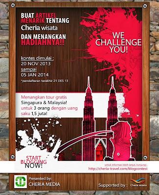 Cheria Travel Blog Contest