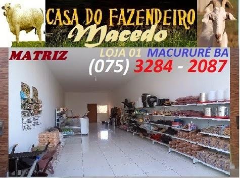 CASA DO FAZENDEIRO - MACURURE BA