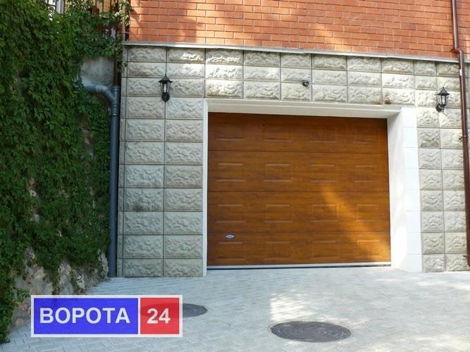 ворота для гаража семей