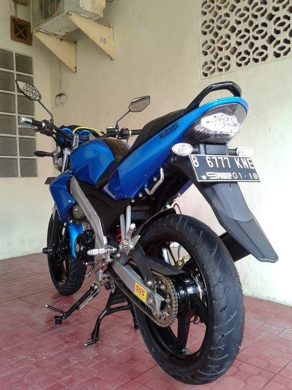 10 Gambar Modifikasi Motor Yamaha Vixion Terbaru title=