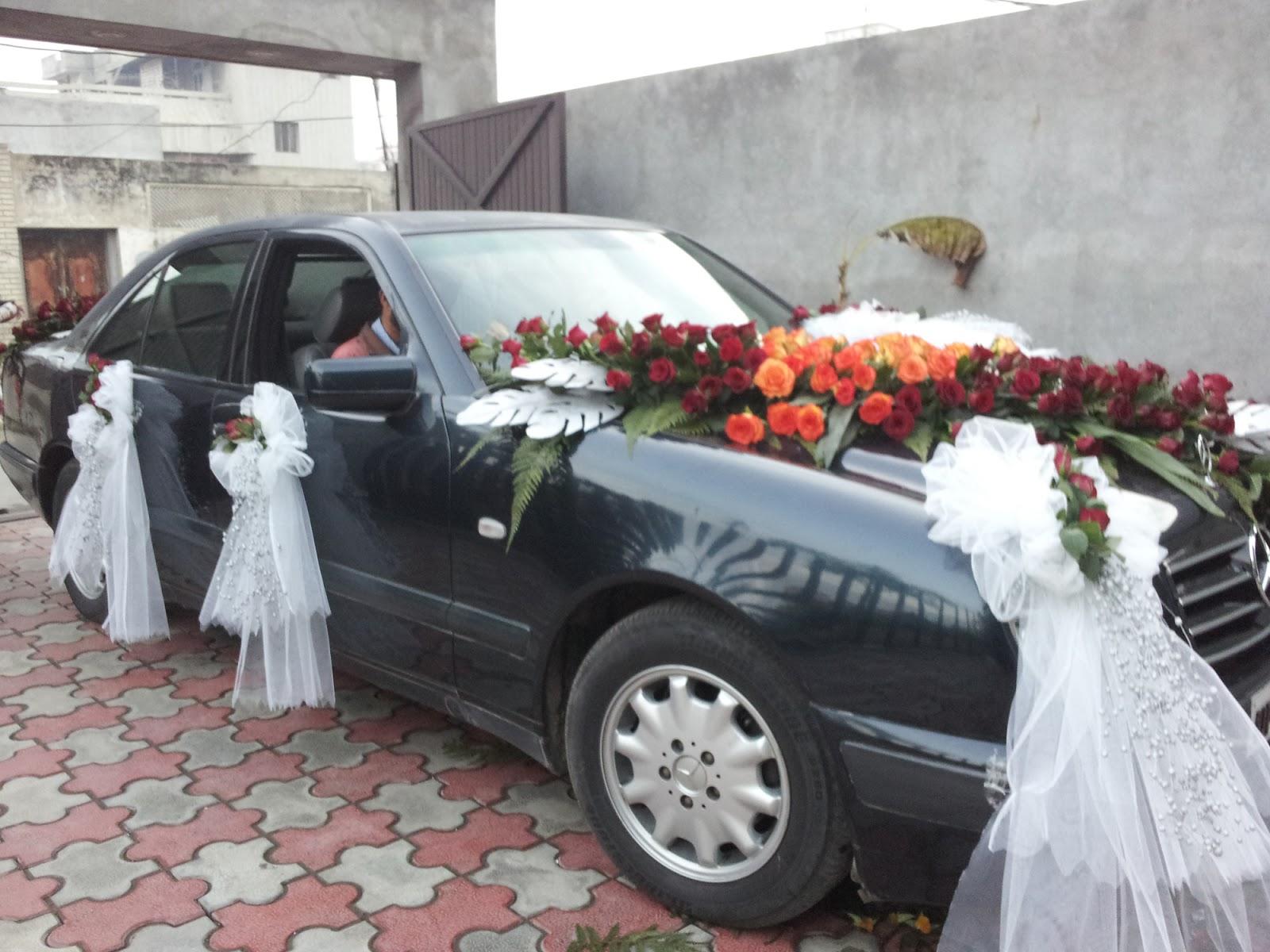 Mercedes E Class Wedding Pictures July 2013 Car Rental Punjab Self