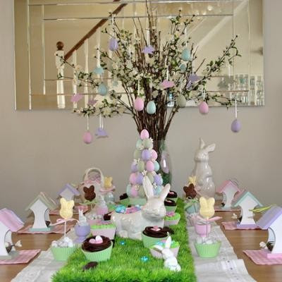The sweetest easter tablescapes simply sweet home - Table easter decorations ...