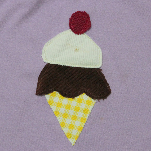 ice cream applique
