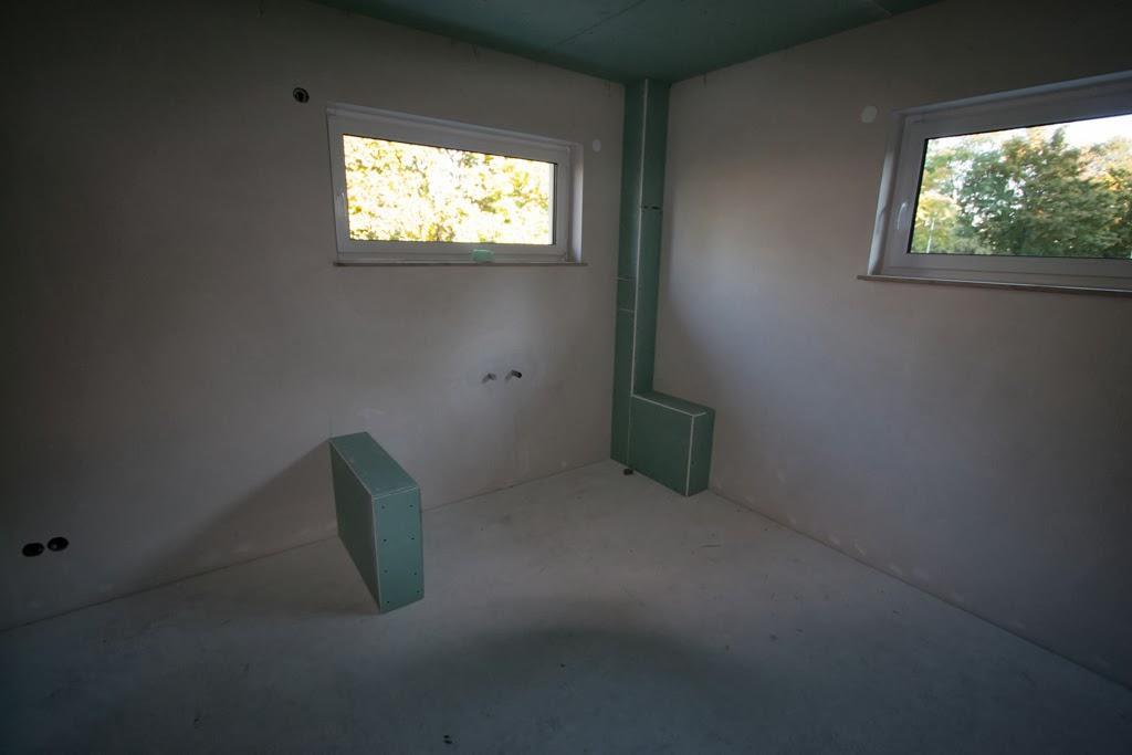 Trennwand Dusche Trockenbau : HuM's Baublog: Tag 134: Trockenbau im Badezimmer