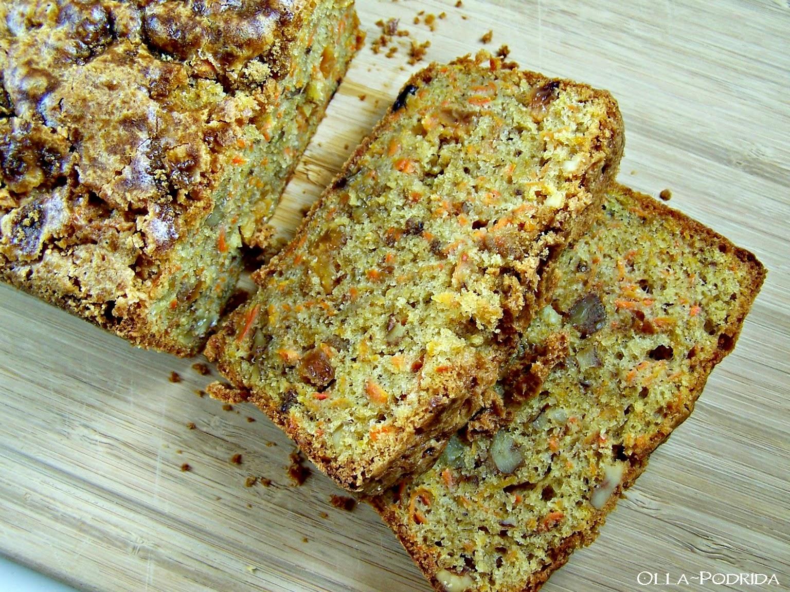 Carrot-Walnut Loaf Cake