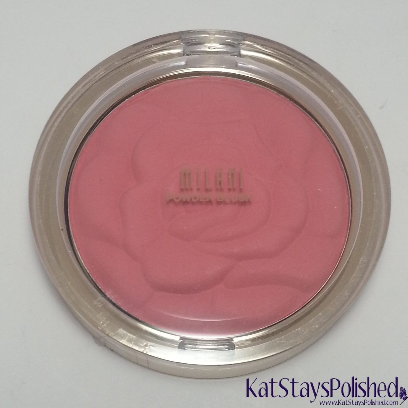 Milani Rose Powder Blush - Tea Rose | Kat Stays Polished