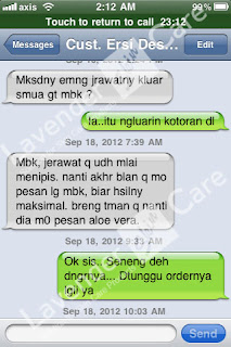 Testimonial Cream Whitening    Intensive Treatment Gold