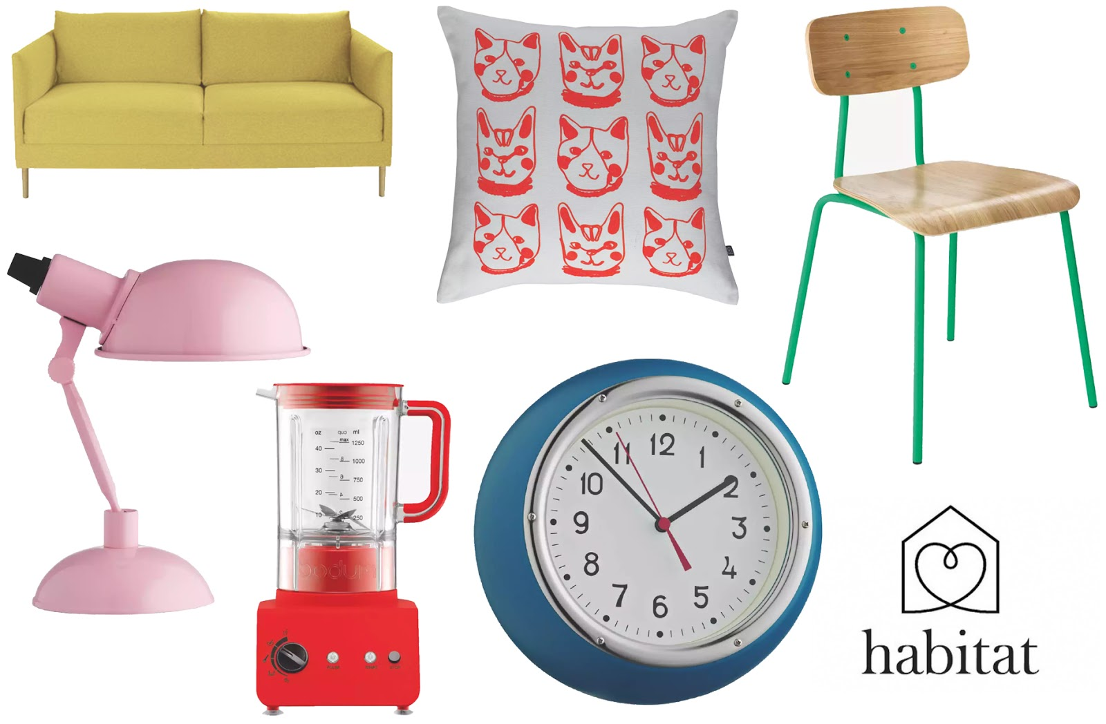 colourful homeware,