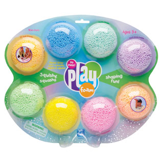 different types of play dough