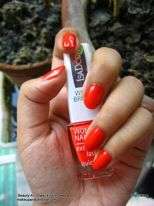 Even in fall, I would flash my Orange Flash: Isadora Wonder Nail ...