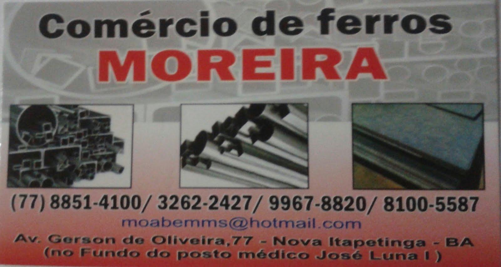 COMERCIO DE FERROS MOREIRA