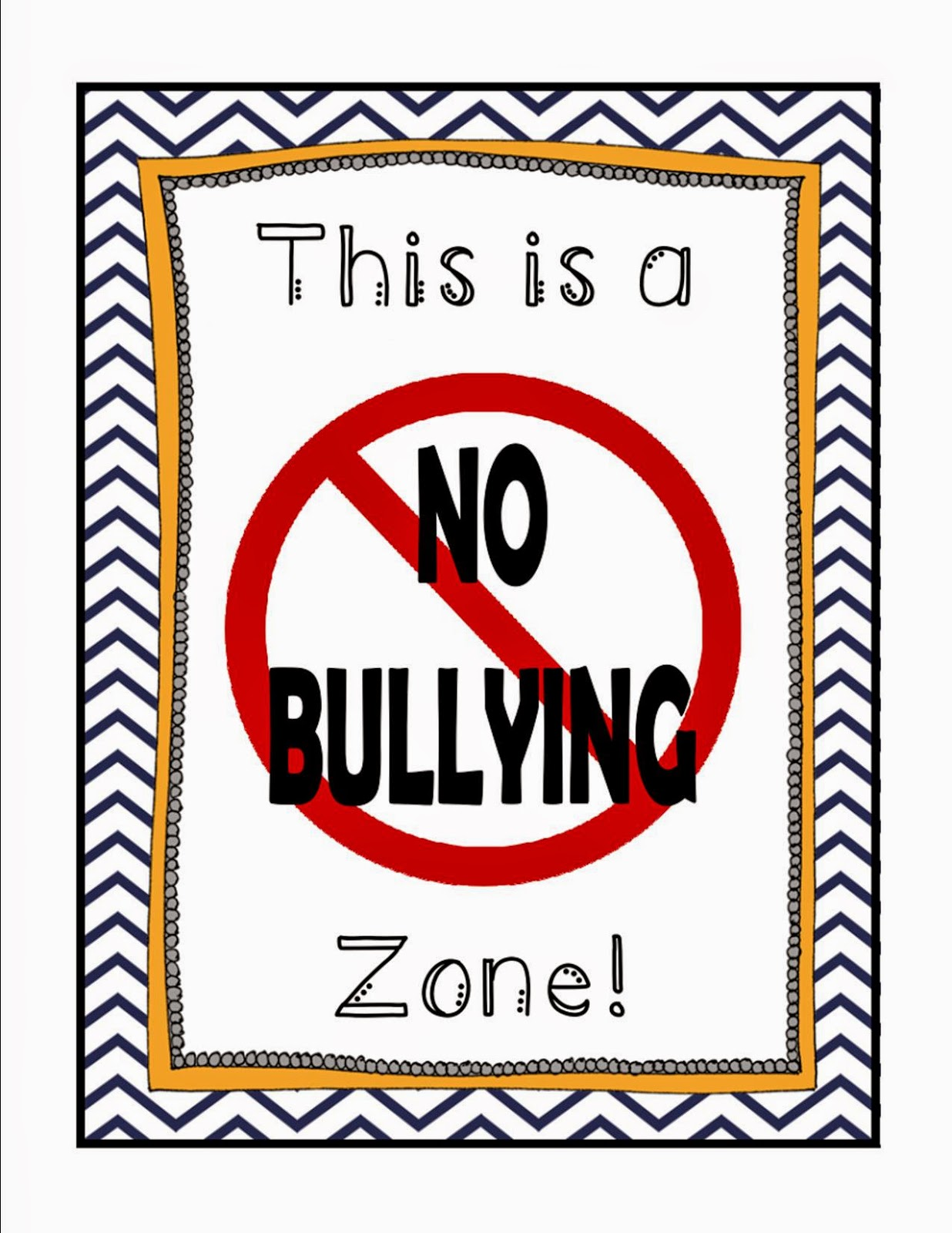 https://www.teacherspayteachers.com/Product/No-Bullying-Zone-Poster-FREEBIE-765267