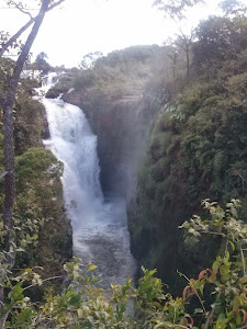 Cachoeira da Fumaça em Jaciara