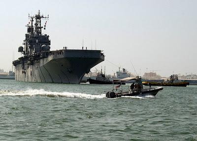Estados Unidos planejam base militar marítima próxima ao Golfo Pérsico