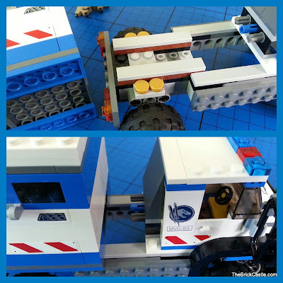 Jurassic World LEGO mobile vet unit removeable container
