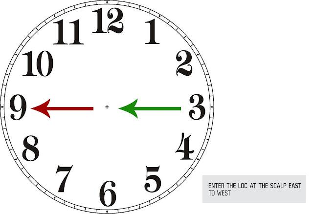 Kreyola s Journeys  How To  Interlocking Patterns with    Clock       Diagram