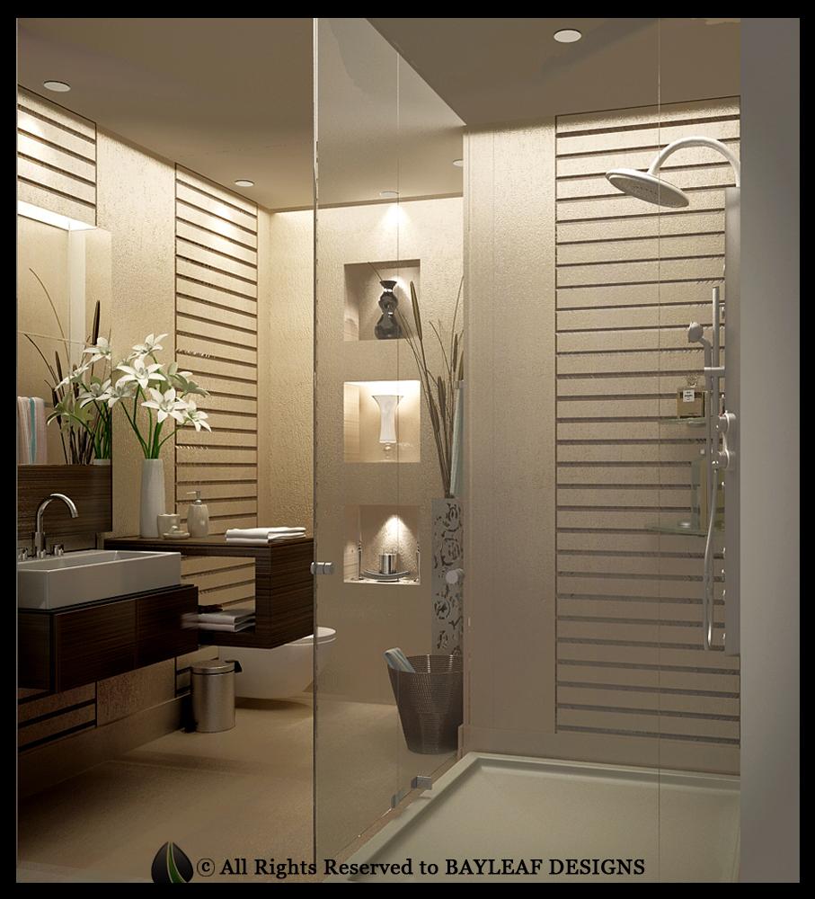 Kitchen and washroom design gurgaon bayleaf designs for Washroom designs pictures
