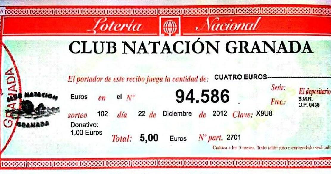 Club nataci n granada el gordo de navidad 94586 for Bmn caja granada oficinas