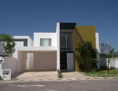 Fachadas minimalistas fachada minimalista tipo d en for Casas residenciales minimalistas