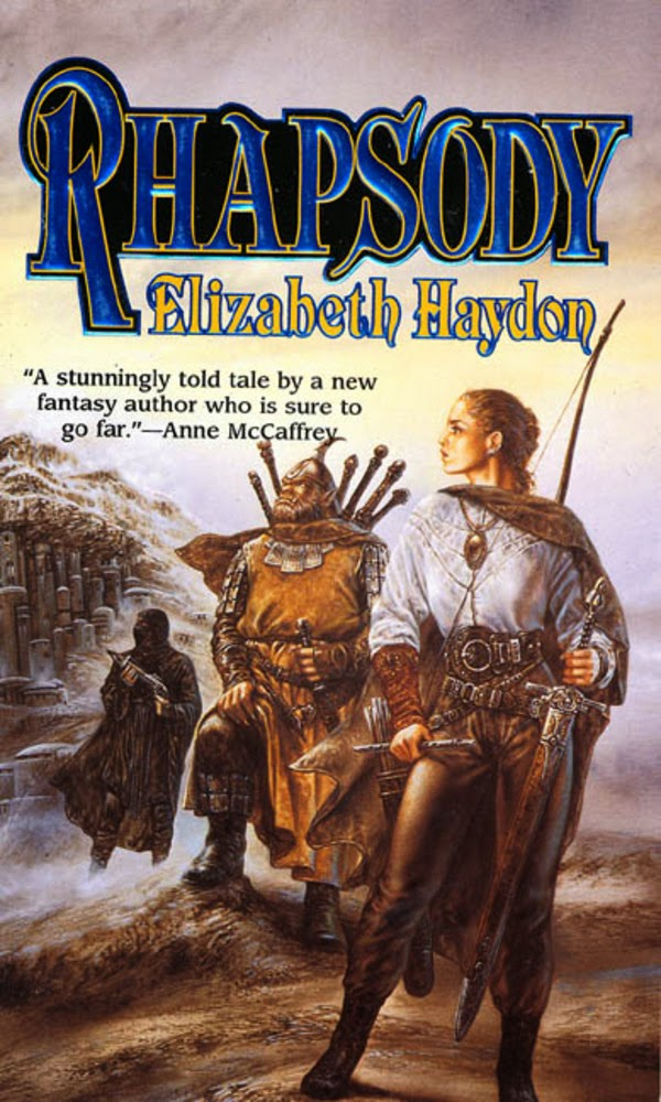 Rhapsody: Child of Blood by Elizabeth Haydon | 5 Star Epic Fantasy