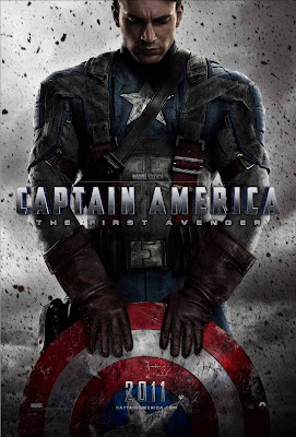Captain America with Shield HD Movie Poster